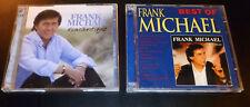 "(2) FRANK MICHAEL CD Lot >> ""Romantique (2CD)"" + ""Best Of (2CD)"" ***VERY GOOD***"