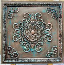 PL08 Faux tin Antique ceiling tiles store shopping bar decor panels 10tile/lot