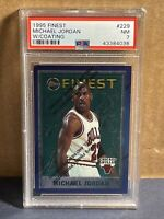 1995 Topps Finest With Coating Michael Jordan PSA 7 #229