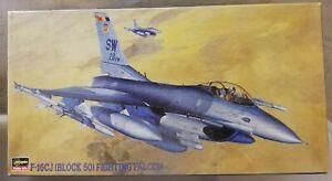 HASEGAWA 1 48 F-16CJ (BLOCK 50) FIGHTING FALCON + BONUS