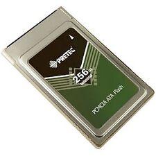 Pretec Flash Card Industrial PCMCIA Memory ATA Card Type 2 256MB Pn: FACL256Mb