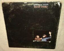 GRAHAM NASH, DAVID CROSBY, 1972 VINYL LP TRIFOLD COVER, Byrds, Hollies
