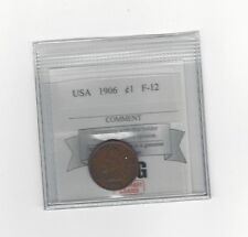 **1906** USA, Indian Head, Small One Cent