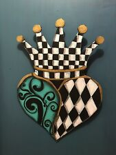 My Whimsical King Of Hearts And A Mackenzie Childs Napkin