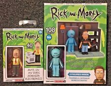 Rick and Morty Lot Ants in my eyes Johnson and Smith Family Garage