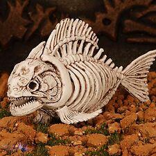 Halloween Skeleton Dead Fish Pirana Piranha Horror Decoration Prop Shop Display