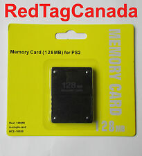 128MB High Speed Memory Card for Sony PS2 Playstation 2 - Canada