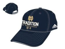 NWT New NCAA Notre Dame Adidas Tradition of Excellence Hat Cap Adjustable