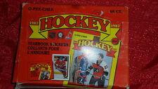 1987 O-Pee-Chee Hockey Box - 48 packs Mini Cards