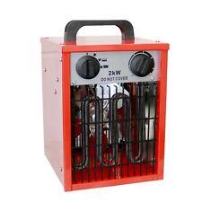 NEW! 2kW Electric Industrial Workshop Garage Space Fan Heater