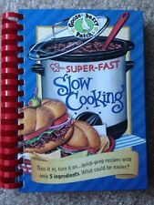 2008 GOOSEBERRY PATCH SUPER FAST SLOW COOKING COOKBOOK, CROCK POT RECIPES