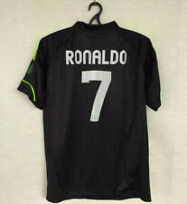 Adidas Jersey Ronaldo 7 Real Madrid Black Soccer Shirt Football   Size XL