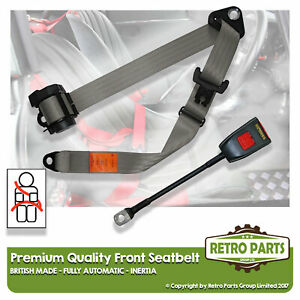Front Automatic Seat Belt For Daihatsu Charade Hatchback 5dr 1978-1993 Grey
