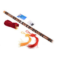 Chinese Bamboo Flute dizi C/D/E/F/G key+Flute Bag+Flute Glue+Flute Membrane UK t