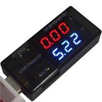 LED USB Current Voltage Charging Power Detector Tester Volt Meter Ammeter BG