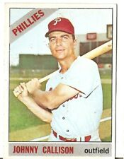 1966 Topps #230 Johnny Callison Philadelphia Phillies BB Card In EX Condition