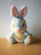 Doudou Lapin Dsney Panpan bleu jaune 22cm