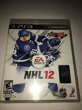 NHL 12 (Sony PlayStation 3, 2011)-PS3-TESTED-COLLECTIBLE VINTAGE FAST SHIP IN 24