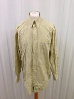 Mens Ben Sherman Retro Shirt - Xl - Long Sleeved - Great Condition