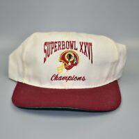 Washington Redskins NFL Super Bowl XXVI Champions Adjustable Snapback Cap Hat