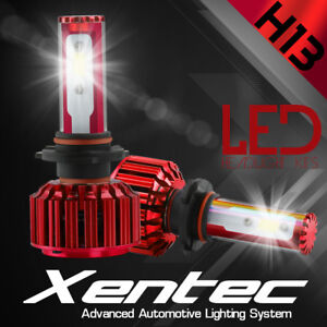 XENTEC LED HID Headlight kit H13 9008 White for 2005-2016 Ford F-250 Super Duty
