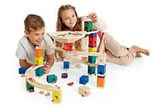 Hape Quadrilla Wooden Marble Run Construction- Whirlpool-
