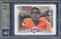 2012 sage hit #81a JUSTIN BLACKMON rc rookie BGS 9.5 10