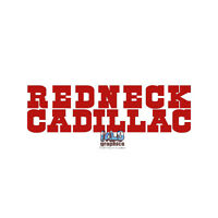 REDNECK CADILLAC vinyl sticker OFF ROAD Mud ROCK CRAWLER  for FORD CHEVY DONDGE
