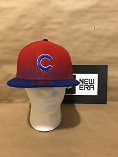 """Chicago Cubs New Era 9FIFTY """"Flow Team Snap"""" Snapback Red/Blue New With Tags"""