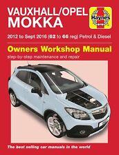 Vauxhall Mokka Opel Mokka 2012 - Sep 2016 Petrol & Diesel Haynes Manual 6413 NEW