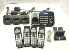Panasonic KX-TG234SK DECT 6.0 Expandable Cordless Answering System w/ 4 Handsets