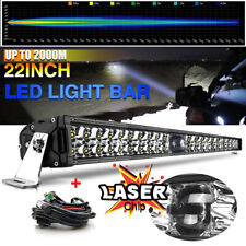 "22""INCH Laser Light Bar LED Combo Driving lamp Offroad 4x4 Truck Marine 12V 24V"