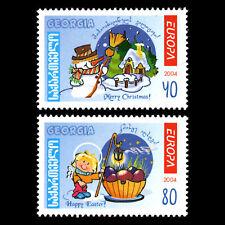 Georgia 2004 - EUROPA Stamps - Holidays - Sc 340/1 MNH