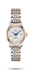 New! Longines Record SS and Pink Gold Original Box & Papers - L23215877