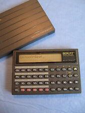 Berlitz Translator interpreter~ 5 language~ 1990 Xerox Selectronics Tr500~ Euc