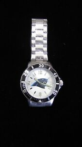 NFL Panthers Sparo Watch Stainless Steel