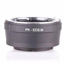 Adapter Pentax PK K mount Lens to Canon EOS M M2 M3 EF-M mirrorless camera