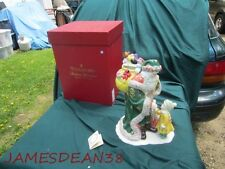 WATERFORD HOLIDAY HEIRLOOMS LETTER TO SANTA COOKIE JAR & BOX
