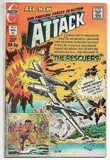 Attack #14 (Charlton, 1973) – Bronze Age War Comic Book – VG
