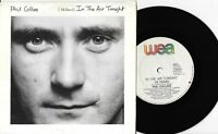 "PHIL COLLINS - IN THE AIR TONIGHT '88 REMIX - 7"" 45 VINYL RECORD w PICT SLV 1988"