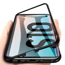 Hülle für Samsung Galaxy S10e S10 Plus Magnet Glas Case Handy Tasche Schutzhülle