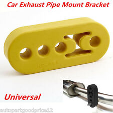 Universal Replacement Car Exhaust Pipe Mount Hanger Bracket Insulator 12mm 4Hole
