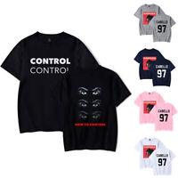 Camila Cabello Men Woman Sleeve Top Tee Cotton Summer Casual Print T Shirt Short