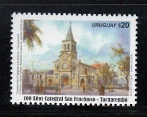 URUGUAY 100th Anniversary San Fructuoso Cathedral in Tacuarembó MNH stamp