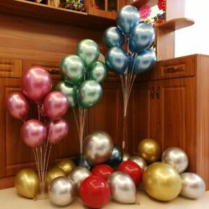 Balloon Column Set Upright Base Stand Holder Wedding Party Decor 5/10 Sets