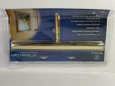 """75051 Westinghouse 14"""" Polished Brass Art Picture Light NEW"""