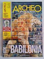 archeo 280 2008 nazca geoglifi aosta romana giulio cesare babilonia lucani arles