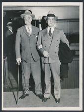 """1931 Franklin D. Roosevelt, Presidential Hopeful """"Propped Up"""" Vintage Photo"""