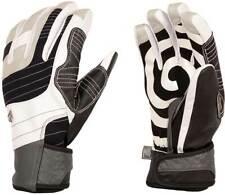 Candygrind Cg Glove Og Leather Snowboard Gloves Black/White (Xs) +Burton Sticker