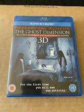 Paranormal Activity The Ghost Dimension Extended Cut 3D +2D Blu Ray NEW & SEALED